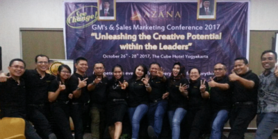 PT. SUPRANUSA SINDATA Participates on Azana GM & Sales Marketing Conference 2017