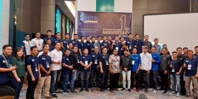 VHP Software Participates at HITA Banten First Anniversary